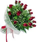 Aydın internetten çiçek satışı  11 adet kirmizi gül buketi sade ve hos sevenler