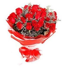 Aydın çiçek mağazası , çiçekçi adresleri  12 adet kırmızı güllerden görsel buket