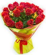 19 Adet kırmızı gül buketi  Aydın çiçek siparişi vermek