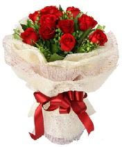 12 adet kırmızı gül buketi  Aydın anneler günü çiçek yolla