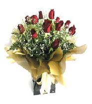 Aydın internetten çiçek siparişi  11 adet kirmizi gül  buketi