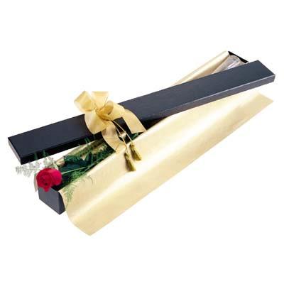 Aydın uluslararası çiçek gönderme  tek kutu gül özel kutu