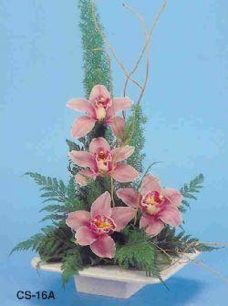 Aydın çiçekçi telefonları  vazoda 4 adet orkide