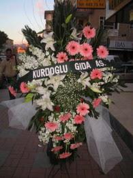 kazablanka,gerbera,sebboy ferforje  Aydın çiçekçi mağazası