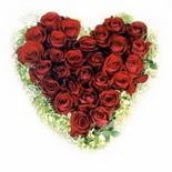 kalp biçiminde 15 gülden   Aydın güvenli kaliteli hızlı çiçek