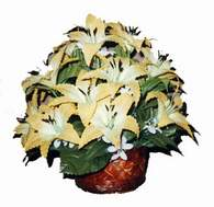yapay karisik çiçek sepeti   Aydın çiçek siparişi sitesi