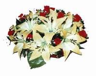 yapay karisik çiçek sepeti   Aydın internetten çiçek siparişi