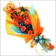 ayicik gül ve kir çiçekleri   Aydın çiçekçi mağazası