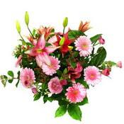 lilyum ve gerbera çiçekleri - çiçek seçimi -  Aydın çiçek gönderme