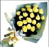 sari güllerden sade buket  Aydın çiçek , çiçekçi , çiçekçilik