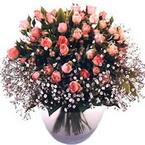 büyük cam fanusta güller   Aydın çiçek yolla