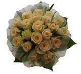 12 adet sari güllerden buket   Aydın uluslararası çiçek gönderme