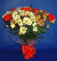 Aydın hediye çiçek yolla  kir çiçekleri buketi mevsim demeti halinde