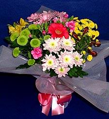 Aydın hediye çiçek yolla  küçük karisik mevsim demeti