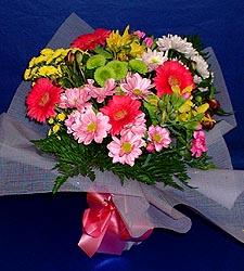 karisik sade mevsim demetligi   Aydın 14 şubat sevgililer günü çiçek