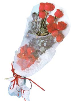 11 adet kirmizi güller buket tanzimi   Aydın çiçek siparişi sitesi