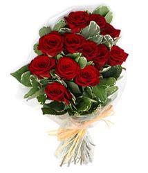 Aydın çiçek yolla , çiçek gönder , çiçekçi   9 lu kirmizi gül buketi.