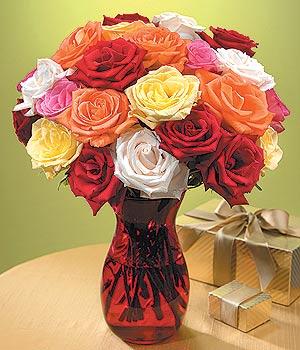 Aydın anneler günü çiçek yolla  13 adet renkli gül