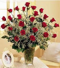 Aydın çiçek , çiçekçi , çiçekçilik  özel günler için 12 adet kirmizi gül