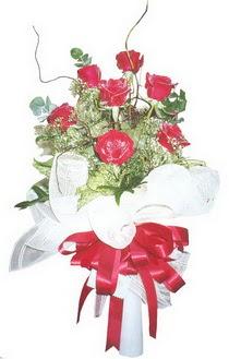 Aydın çiçek siparişi sitesi  7 adet kirmizi gül buketi