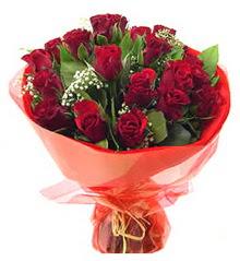 Aydın anneler günü çiçek yolla  11 adet kimizi gülün ihtisami buket modeli