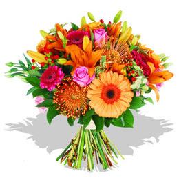 Aydın çiçekçi telefonları  Karisik kir çiçeklerinden görsel demet
