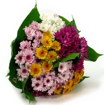 Aydın çiçekçi telefonları  Karisik kir çiçekleri demeti herkeze