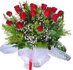 Aydın çiçek satışı  12 adet kirmizi gül buketi esssiz görsellik
