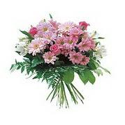 karisik kir çiçek demeti  Aydın çiçek satışı