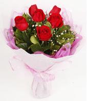 9 adet kaliteli görsel kirmizi gül  Aydın çiçek gönderme