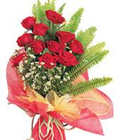 11 adet kaliteli görsel kirmizi gül  Aydın çiçek satışı