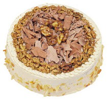 Karamelli 4 ile 6 kisilik yas pasta  Aydın çiçek yolla