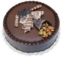 Çikolatali yas pasta 4 ile 6 kisilik  leziz  Aydın çiçek mağazası , çiçekçi adresleri
