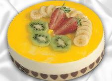 pasta gönderme 4 ile 6 kisilik yas pasta muzlu yaspasta  Aydın çiçek mağazası , çiçekçi adresleri