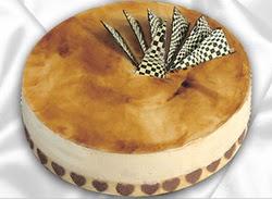 taze pasta 4 ile 6 kisilik yas pasta karamelli yaspasta  Aydın çiçekçiler