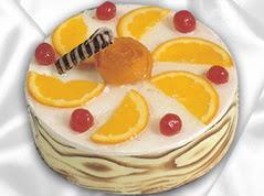 lezzetli pasta satisi 4 ile 6 kisilik yas pasta portakalli pasta  Aydın çiçekçi mağazası