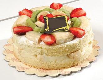 pasta siparisi 4 ile 6 kisilik karisik meyvali yas pasta  Aydın çiçek servisi , çiçekçi adresleri