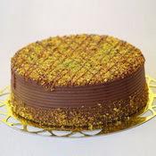 sanatsal pastaci 4 ile 6 kisilik krokan çikolatali yas pasta  Aydın cicek , cicekci