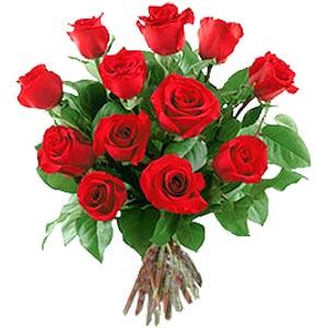 11 adet bakara kirmizi gül buketi  Aydın güvenli kaliteli hızlı çiçek