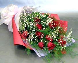 10 adet kirmizi gül çiçegi gönder  Aydın anneler günü çiçek yolla