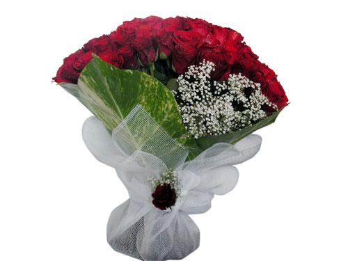 25 adet kirmizi gül görsel çiçek modeli  Aydın çiçek servisi , çiçekçi adresleri