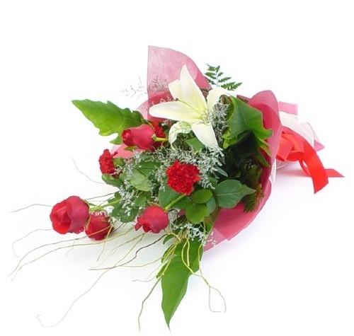 Mevsim çiçeklerinden karisik buket  Aydın cicek , cicekci