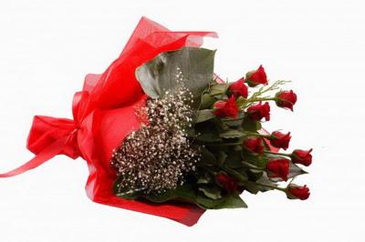 Aydın çiçek siparişi sitesi  11 adet kirmizi gül buketi çiçekçi