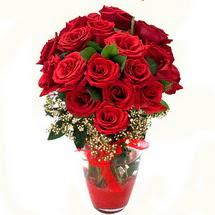 Aydın çiçek siparişi sitesi   9 adet kirmizi gül