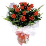 Aydın çiçek , çiçekçi , çiçekçilik  9 adet güzel bir gül buketi