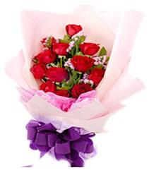 7 gülden kirmizi gül buketi sevenler alsin  Aydın çiçek gönderme sitemiz güvenlidir