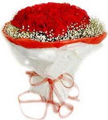 Aydın çiçekçiler  41 adet kirmizi gül buketi
