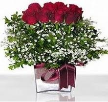 Aydın internetten çiçek satışı  mika yada cam vazo içerisinde 7 adet gül