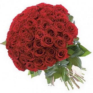 Aydın güvenli kaliteli hızlı çiçek  101 adet kırmızı gül buketi modeli