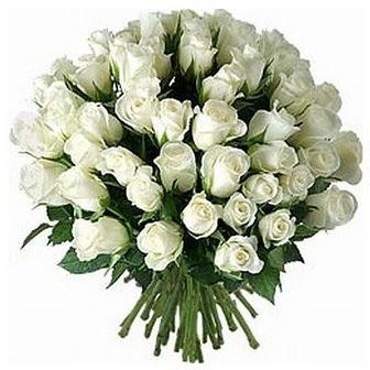 Aydın çiçek servisi , çiçekçi adresleri  33 adet beyaz gül buketi